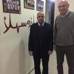 Mr Khalid Mousa with Mr Jamil Asali