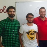 Dr. Samer Madanat (middle)