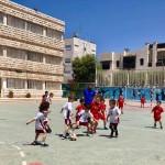 Sporty kids at NOS! LGC team vs Fujitsu