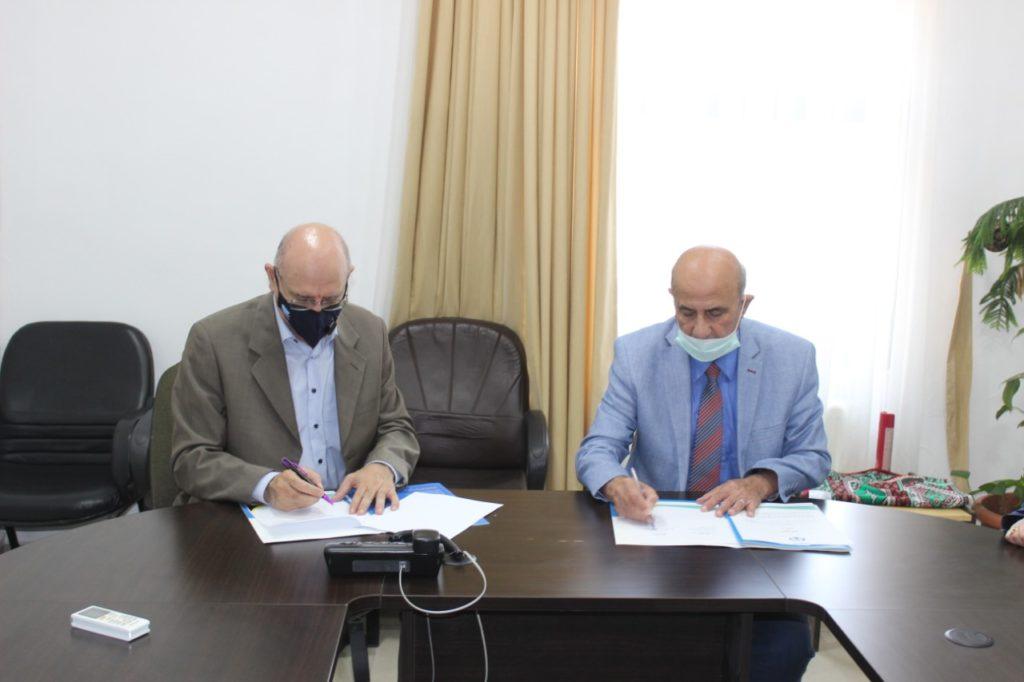 CEO Jamil Asali & H.E. Prof. Sheikh Salem